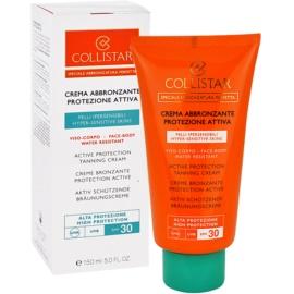 Collistar Sun Protection opalovací krém pro citlivou pokžku SPF 30  150 ml