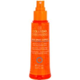 Collistar Hair In The Sun ochranný olej na vlasy proti slunečnímu záření pro barvené vlasy  100 ml