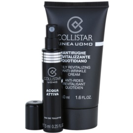 Collistar Man crema de día revitalizante  antiarrugas  50 ml