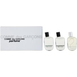 Comme Des Garcons Miniatures Collection darilni set I.  parfumska voda 9 ml + parfumska voda 9 ml + parfumska voda 9 ml