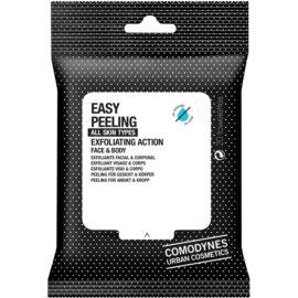 Comodynes Easy Peeling Exfoliationstücher für Gesicht und Körper  20 St.