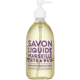 Compagnie de Provence Aromatic Lavender marseillské tekuté mydlo  500 ml