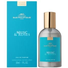 Comptoir Sud Pacifique Musc & Roses Eau de Parfum para mulheres 30 ml