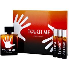Concept V Touch Me dárková sada I.  toaletní voda 100 ml + toaletní voda 20 ml + toaletní voda 20 ml + toaletní voda 20 ml