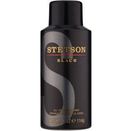 Coty Stetson Black tělový sprej pro muže 118 ml
