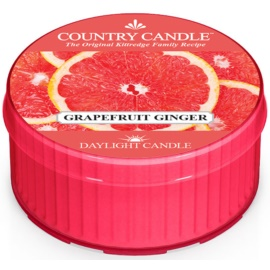 Country Candle Grapefruit Ginger Theelichtje  42 gr