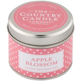 Country Candle Apple Blossom vonná sviečka   v plechu