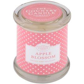 Country Candle Apple Blossom vonná sviečka   v skle s viečkom