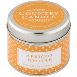 Country Candle Apricot Nectar vonná svíčka   v plechovce