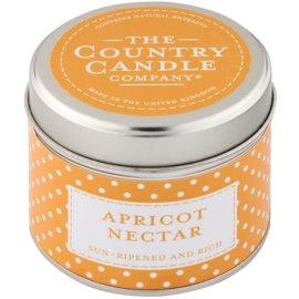 Country Candle Apricot Nectar vonná svíčka   v plechu