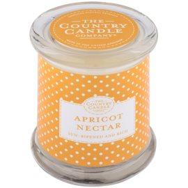 Country Candle Apricot Nectar illatos gyertya    üvegben fedővel