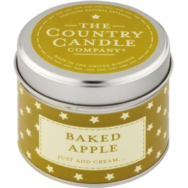 Country Candle Baked Apple vonná sviečka 1 ks v plechu
