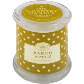 Country Candle Baked Apple vonná svíčka   ve skle s víčkem