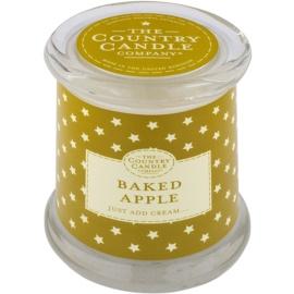 Country Candle Baked Apple illatos gyertya    üvegben fedővel