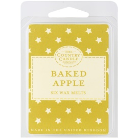 Country Candle Baked Apple cera derretida aromatizante 60 g