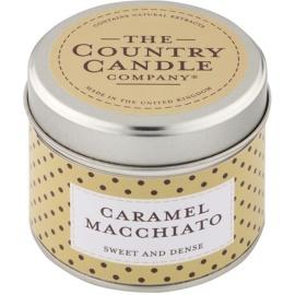 Country Candle Caramel Macchiato vonná svíčka   v plechovce