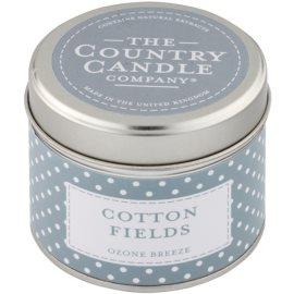 Country Candle Cotton Fields vonná sviečka   v plechu