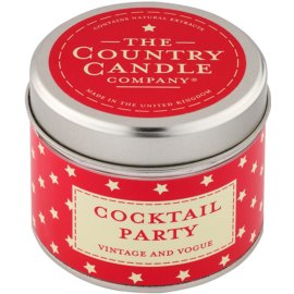 Country Candle Cocktail Party ароматна свещ    в кутия