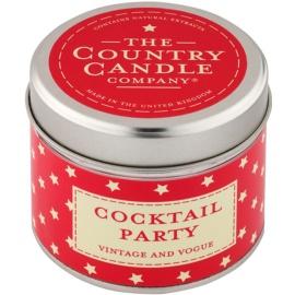 Country Candle Cocktail Party vonná svíčka   v plechovce