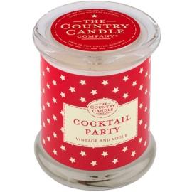 Country Candle Cocktail Party vela perfumada    en vidrio, con tapa