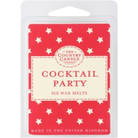 Country Candle Cocktail Party illatos viasz aromalámpába 60 g