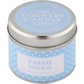 Country Candle Fresh Linen vonná svíčka   v plechovce