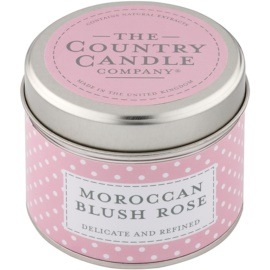Country Candle Moroccan Blush Rose Scented Candle   in Tin