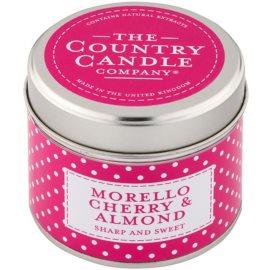 Country Candle Morello Cherry & Almond świeczka zapachowa    w puszcze