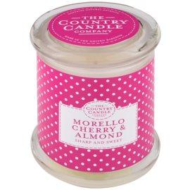 Country Candle Morello Cherry & Almond vela perfumado   em vidro com tampa