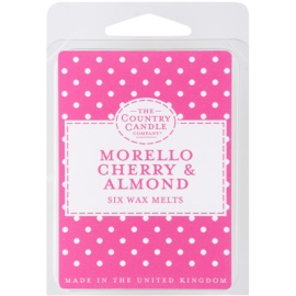 Country Candle Morello Cherry & Almond Wachs für Aromalampen 60 g