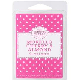 Country Candle Morello Cherry & Almond Wachs für Aromalampen 60 g