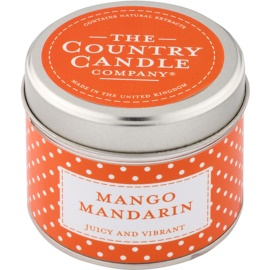Country Candle Mango Mandarin Duftkerze    in Blechverpackung