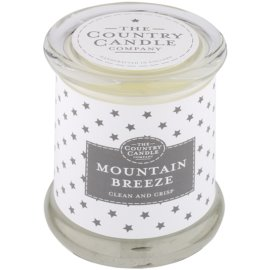 Country Candle Mountain Breeze Duftkerze    im Glas mit Deckel