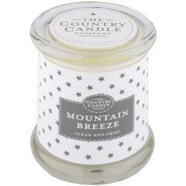 Country Candle Mountain Breeze illatos gyertya    üvegben fedővel