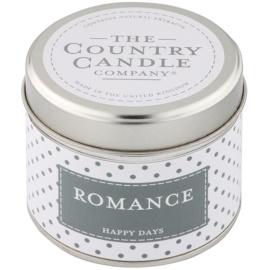 Country Candle Romance vonná svíčka   v plechovce