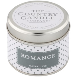 Country Candle Romance Duftkerze    in Blechverpackung