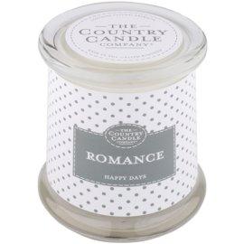 Country Candle Romance vonná svíčka   ve skle s víčkem