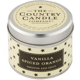 Country Candle Vanilla Spiced Orange ароматна свещ    в кутия