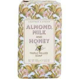 Crabtree & Evelyn Almond Milk & Honey hydratační mýdlo  158 g