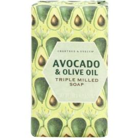Crabtree & Evelyn Avocado & Olive Oil jabón con aceite de oliva  158 g