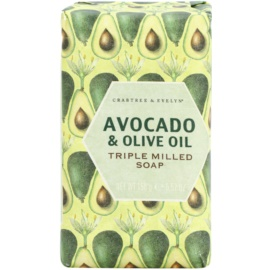 Crabtree & Evelyn Avocado & Olive Oil Seife mit  Olivenöl  158 g
