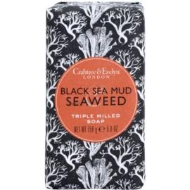Crabtree & Evelyn Black Sea Mud & Seaweed luxusní mýdlo s mořskými řašami a bahnem  158 g