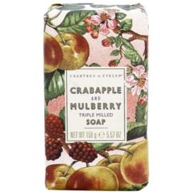 Crabtree & Evelyn Crabapple & Mulberry  luxusní mýdlo s jablkem a moruší  158 g