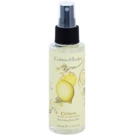 Crabtree & Evelyn Citron osvěžující tělový sprej  100 ml
