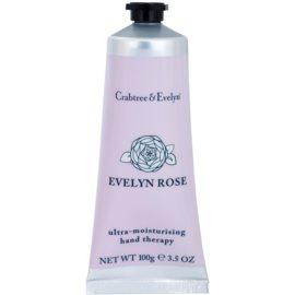 Crabtree & Evelyn Evelyn Rose® intensive, hydratisierende Creme für Hände und Fingernägel  100 g
