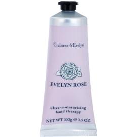 Crabtree & Evelyn Evelyn Rose® intenzivní hydratační krém na ruce a nehty  100 g