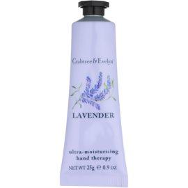 Crabtree & Evelyn Lavender intenzivní hydratační krém na ruce  25 g