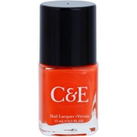 Crabtree & Evelyn Nail Care lak na nehty odstín Clementine 15 ml