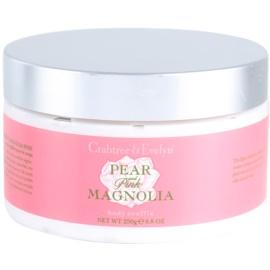 Crabtree & Evelyn Pear & Pink Magnolia telový krém  250 g
