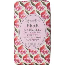 Crabtree & Evelyn Pear & Pink Magnolia sabonete sólido com efeito hidratante  158 g